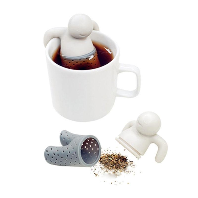 Tee Filter Tee Ei Sieb Diffusor Kalt Brauen 1pc Edelstahl