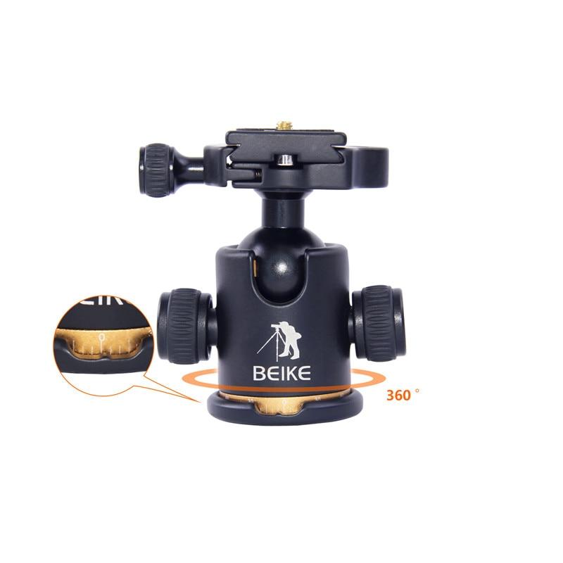 beike BK-03 kaamera statiivi kuulipea kiire vabastusplaadiga 1/4 - Kaamera ja foto - Foto 6
