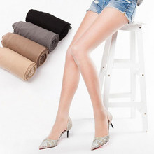 LOEEL Newly Ladies Summer Tights Thin Silk Stockings Simple Packaging Pantyhose Anti-hook Silk Transparent Pantihose(China)