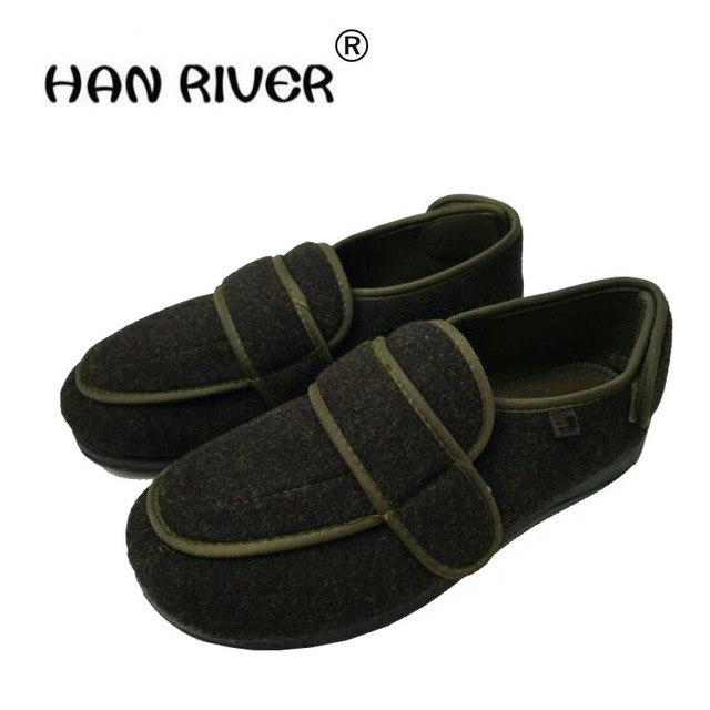 Middle Aged And Elderly People With Cotton Cotton Diabetes Shoes