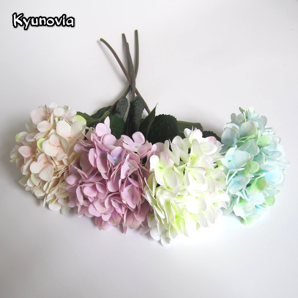 Kyunovia DIY Decorative Bridal Bouquet Wedding Centerpieces Flower ...