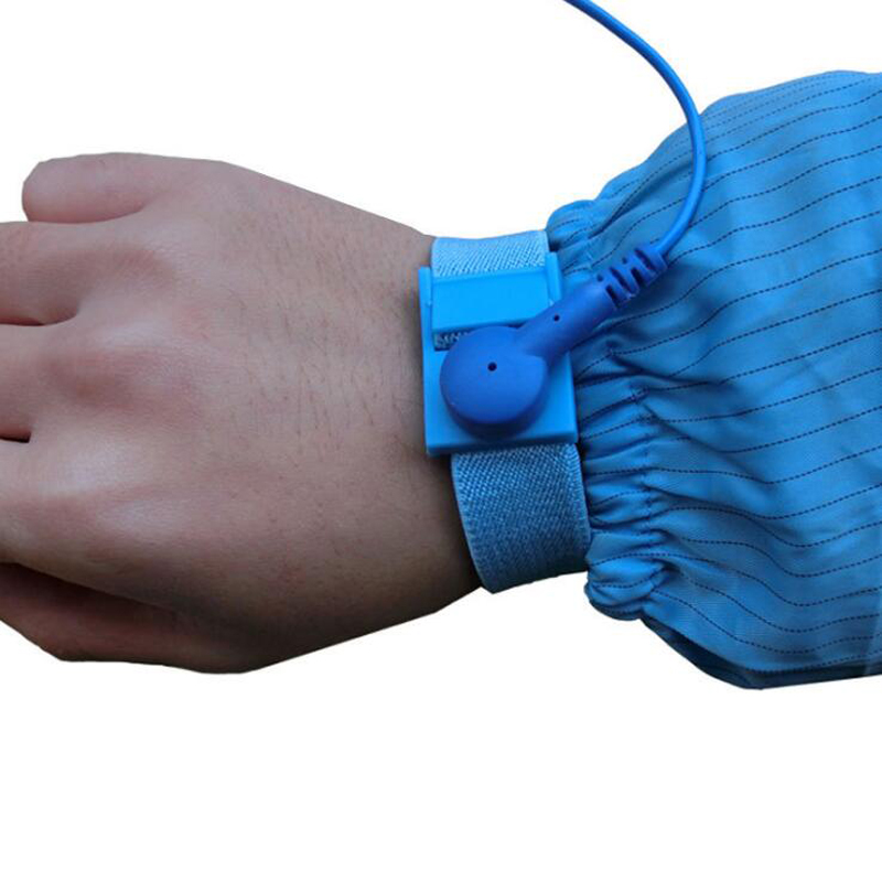 Image 4 - Adjustable Anti Static Bracelet Electrostatic ESD Discharge Cable Reusable Wrist Band Strap Hand With Grounding Wire-in Safety Gloves from Security & Protection