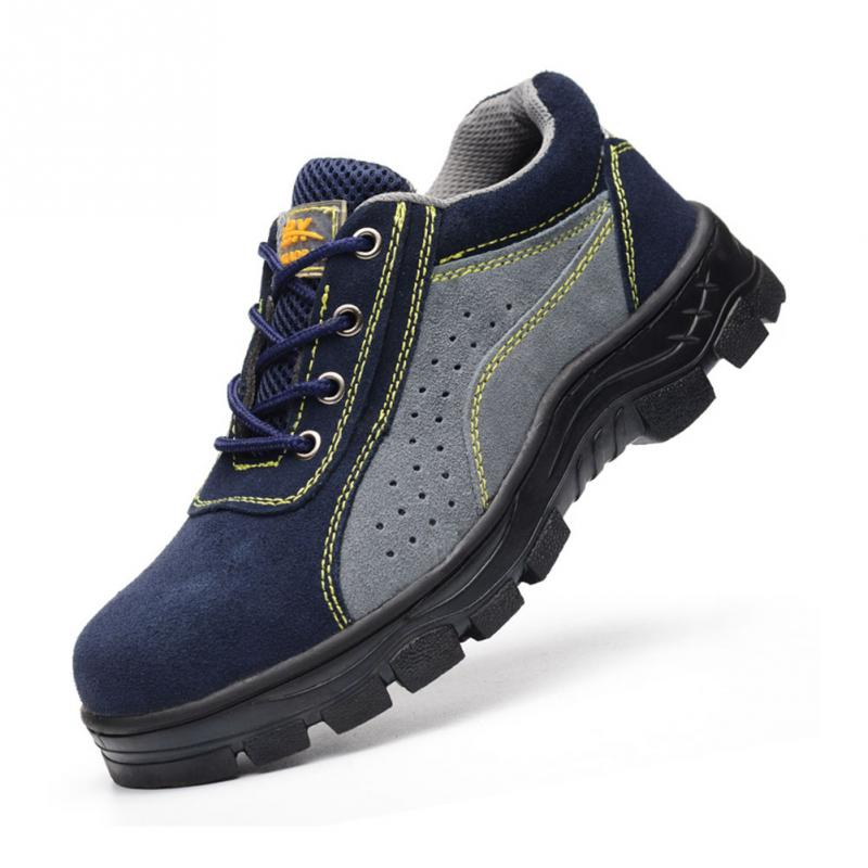 Top Quality Safety Work Shoes Men Boots Anti-smash