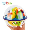 3D Ball Maze Puzzle Labyrinth Perplexus Maze Game Educational Toys for Children Kids Magical Intellect Maze Ball 158 Barriers