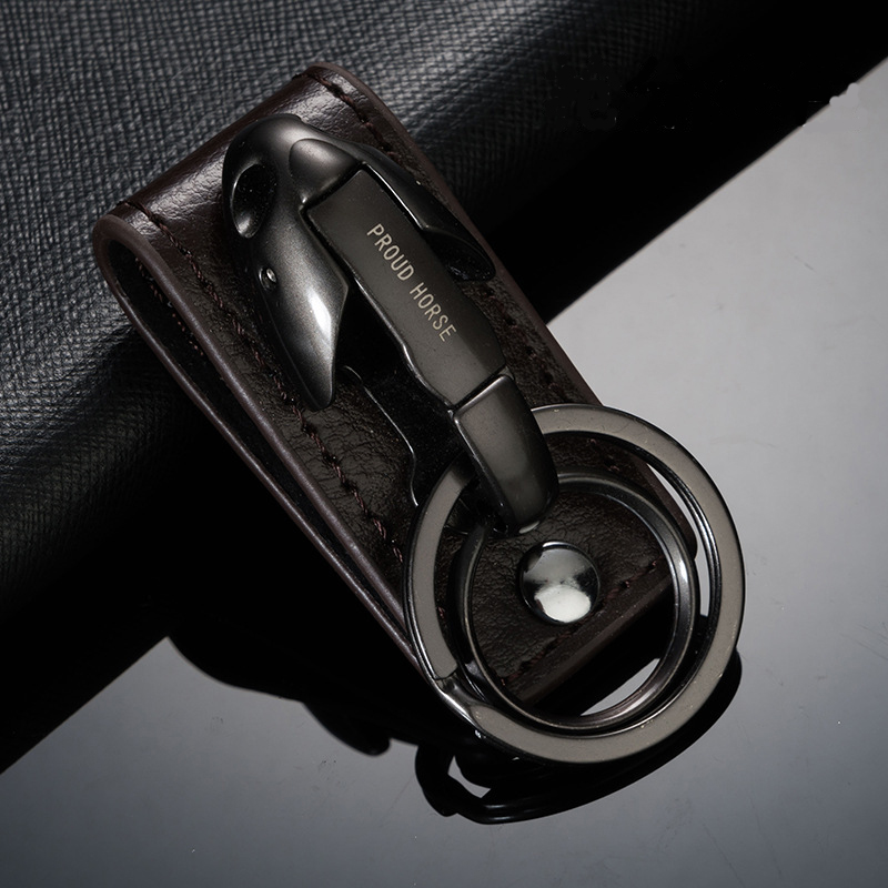 Cabeça de cobra chaveiro porta-chaves do carro couro genuíno chaveiro titular criativo sleutelhanger chaveiro llaveros hombre