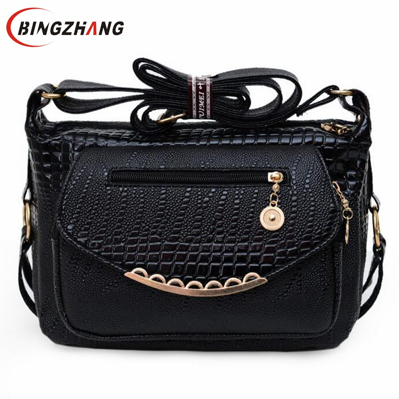 Stone Print Casual Women Bags 2017 Popular Small Women Messenger Bags Quality Ladies Leather Shoulder Bag crossbody L4-1916