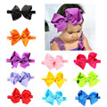 Children Hair Band Baby Bow Head Bring Baby Hair Decorate 11 Color Optional Girls headband bow