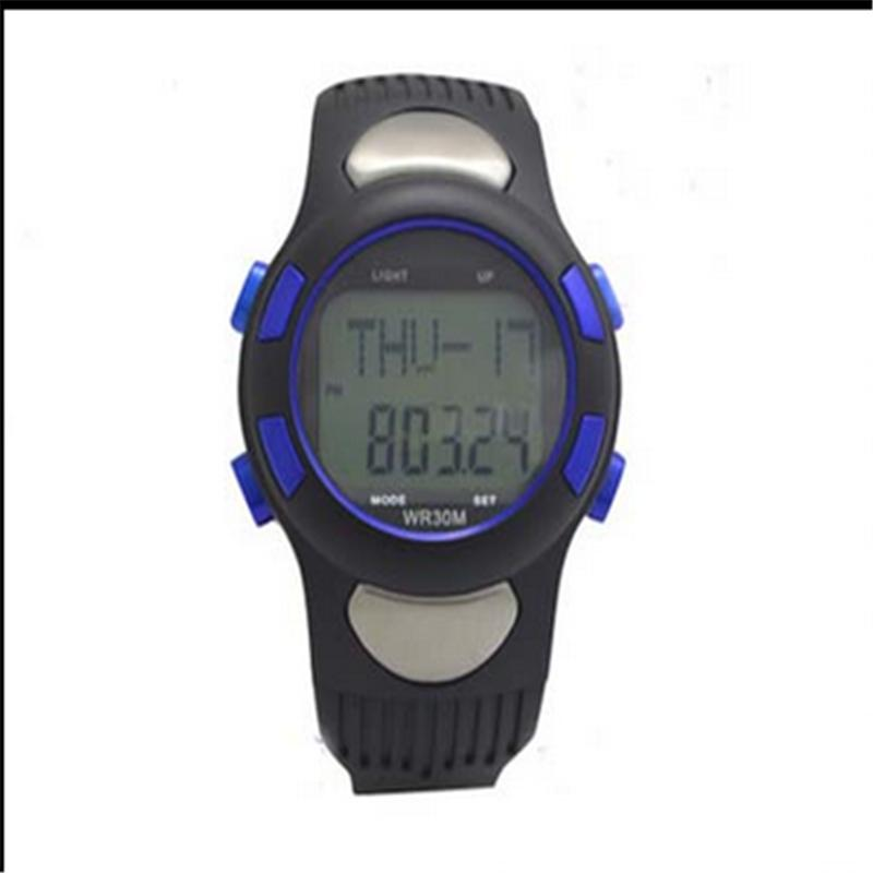 Men Women Sports GYM Running Hunting Digital Watch Fitness 3D Pedometer Calories Counter Pulse Heart Rate Monitor ezon pedometer optical sensor heart rate monitor alarm calories men sports watches digital watch running climbing wristwatch