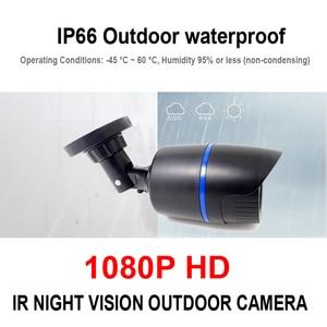 Image 3 - AHD 1080P Camera Analog Surveillance CCTV Security Home Indoor Outdoor Bullet Full Hd Cameras Infrared Night Vision Camera