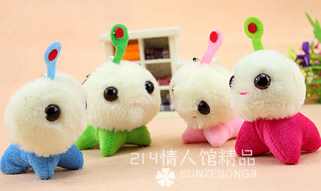 Plush bag phone pendant wholesale 10pcs 7cm cartoon movie CJ7 wedding little doll children prize girl gift stuffed toy