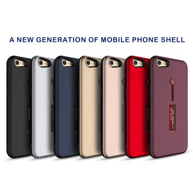 Fashion Kickstand Case For OPPO A83 Case Finger Loop Strap Cover For OPPO  A37 A39/A57 A59 A71 A73/A79 A77 Hide Stand Holder Case