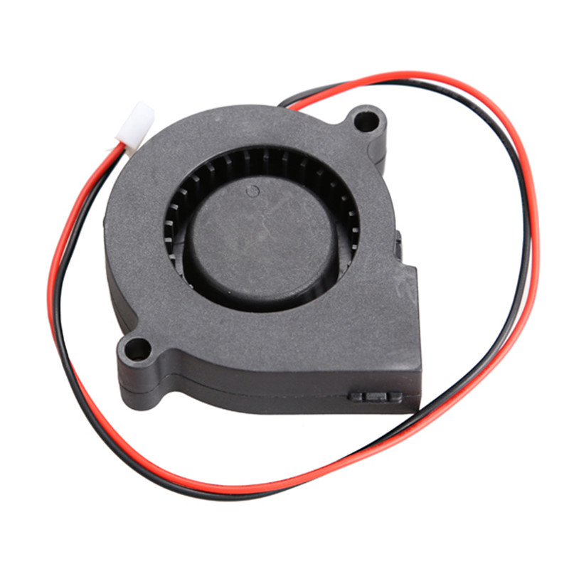 50x15mm Black Brushless DC Cooling Blower Fan 2 Wires 5015S 12V 0.14A EM88