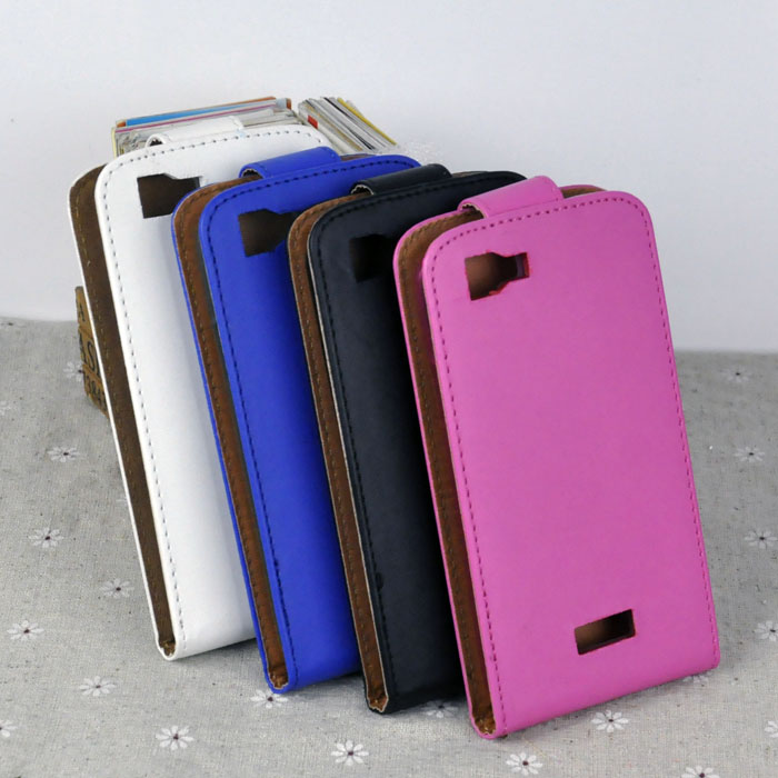PU Leather + TPU Phone Cases For Fly IQ4409 Quad Era Life Covers Case Free Shipping Flip Open Up&Down High Quality