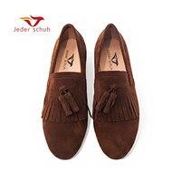 Мужская обувь; обувь ручной работы с классическим принтом «броги» и замшевые вечерние мужские лоферы с бахромой