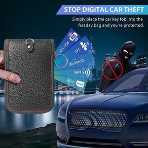 Image 5 - Car Key Signal Blocker Case Faraday Bag Signal Blocking Shield Case Protector Pouch For Car Keys Blocking Wifi/GSM/LTE/NFC/RF