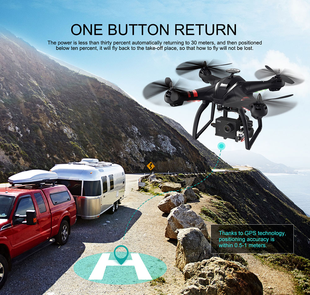 BAYANGTOYS X22 RC Quadcopter Drones Dual GPS WiFi FPV Brushless Follow Me Helicopters Racing Remote Control RC Drone Dron Toys 10