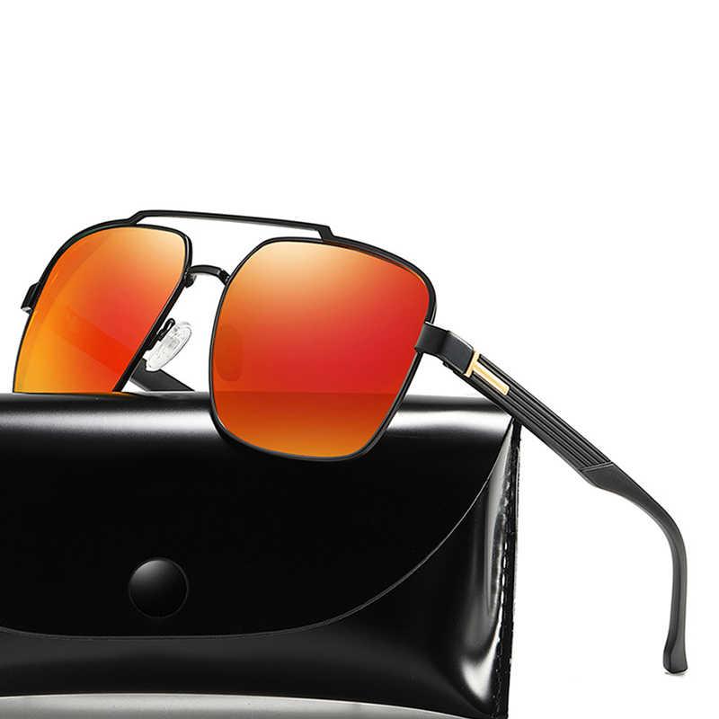 Globale di Sconto di Marca di Occhiali Da Sole Polarizzati Occhiali Da Sole Degli Uomini di Driver In Metallo Classic Retro 2019 Del Progettista di Marca UV400 Occhiali Da Sole Best Regalo Di Compleanno