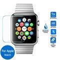Para a apple smart watch sport edition case capa protetor de tela proteger 38mm 42mm vidro temperado film lcd smartwatch acessório