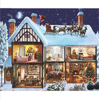 5d Full Square Unicorn Diamond Painting Painting Christmas Gifts Diy Unfinish Cross-Stitch Diamond Mosaic Home Decorations  8C1@