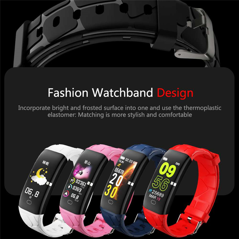Image 5 - LIGE New Sport Smart Bracelet Women IP68 Waterproof Fitness Tracker Heart Rate Monitor Pedometer Smart Watch For Android ios+Box-in Smart Wristbands from Consumer Electronics