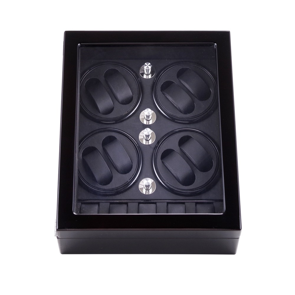 Watch Winder ,LT Wooden Automatic Rotation 8+5 Watch Winder Storage Case Display Box 2018 New style