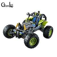 GonLeI LELE 38001 Technic City Series 2 in 1 Formula Off Roader Car Building Blocks Bricks Model Kids Toys