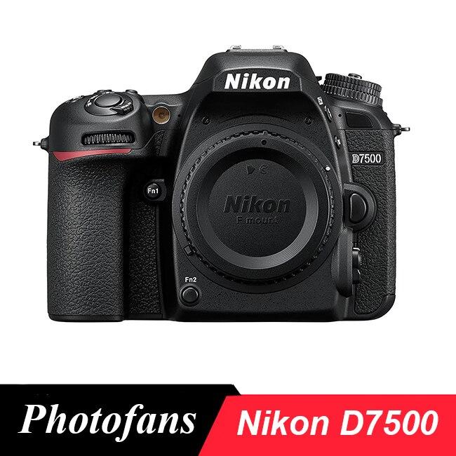 Nikon D7500 DSLR (sólo cuerpo, nuevo)