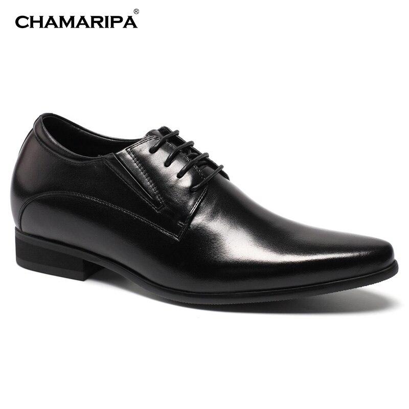 CHAMARIPA Increase Height 8cm 3 15 inch Elevator font b Shoes b font font b Men