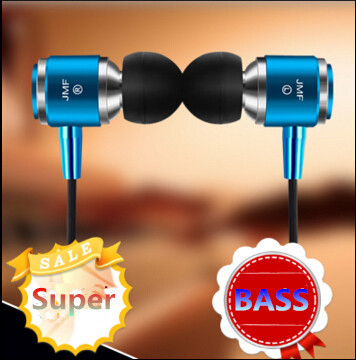 Headset For Xiaomi IPhone 5 5S 4 Samsung MP3 MP4  Free Shipping 100% Original JMF 3.5mm In-Ear phone Earphone bass