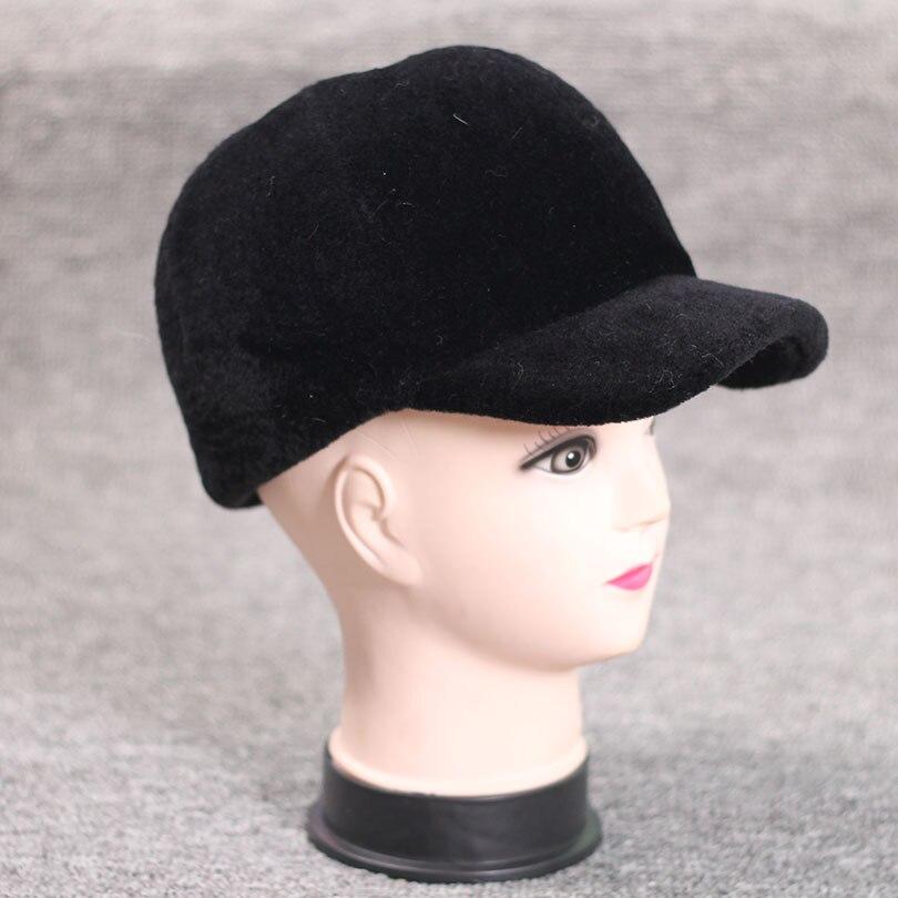 57a34e05af3 Women Real Fur Wool Hat Warm Casual Striped Cat Ear Winter Hats Natural Fur  Beanie Whole Female Fashion Warm Real Fur Caps mz051