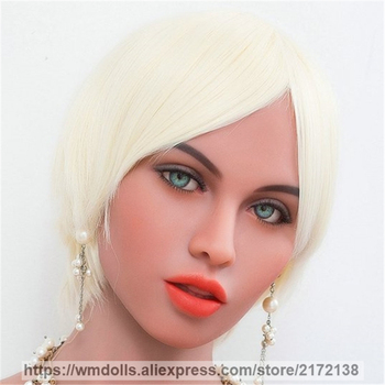 WMDOLL Real Oral Sex Doll Head For Japanese Love Dolls Sexy Heads TPE Adult Toys Sex Products