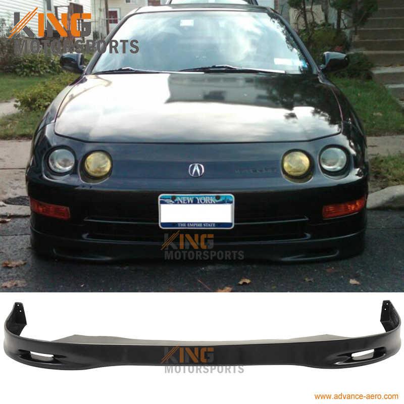 For 98 01 99 00 Acura Integra Spoon Front Bumper Lip Spoiler Bodykit PU