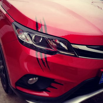Car styling headlights personalized car stickers for Mitsubishi ASX/Outlander/Lancer Evolution/Pajero/Eclipse/Grandis image