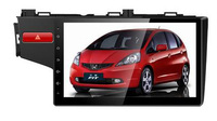 10.2 дюймов android 4.4 gps автомобиля видео плеер для honda fit 2014 2015 с 3 г wi fi mirrorlink
