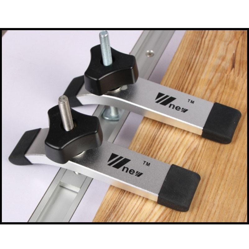 1 Set Miter Track Clamping Blocks Universal Clamping Blocks Platen M8 Screw Woodworking Tool Set