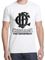 Nowa Koszulka Logo Chicago Fire Department darmowa wysyłka