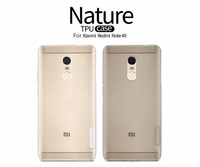 Xiaomi Redmi Note 4X Case NILLKIN Nature Luxury Soft Silicone TPU Back Cover Case For Xiaomi