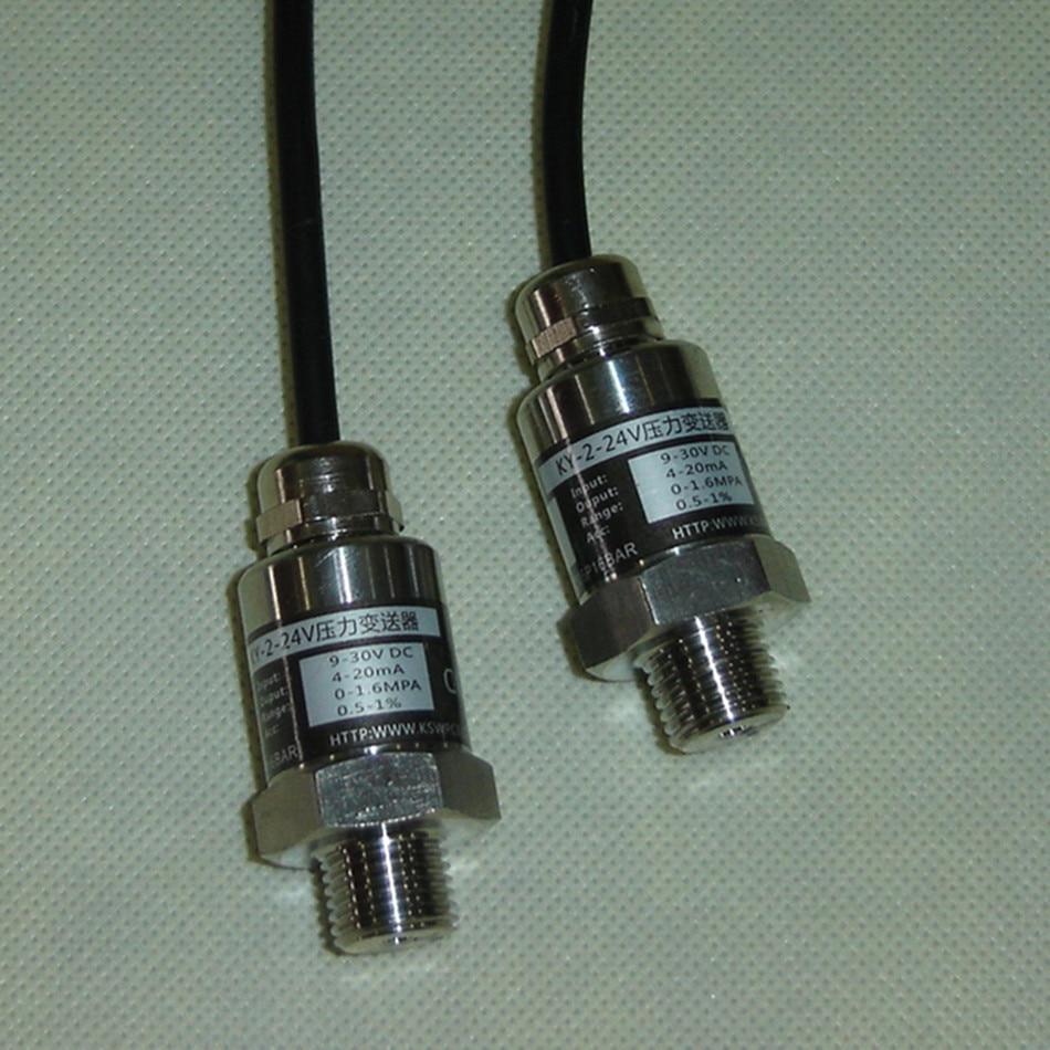 Pressure Sensor Frequency Conversion Pump Hydraulic Sensor 2-wire 4-20 MA Output Range 0-16 Bar