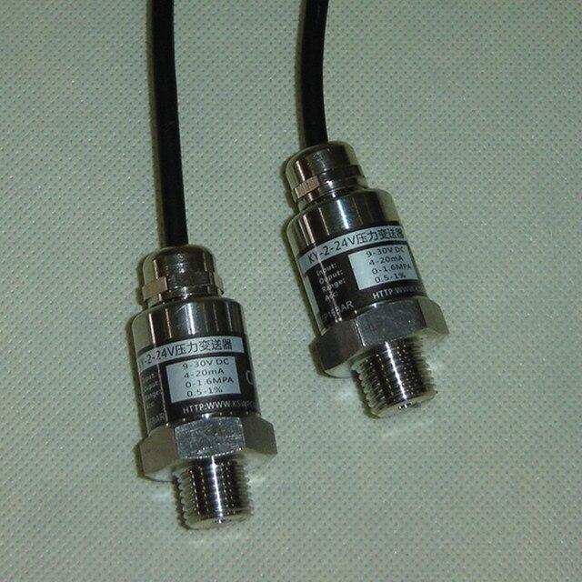 Pressure Sensor Frequency Conversion Pump Hydraulic Sensor 2 wire 4 20 mA Output Range 0 16 Bar