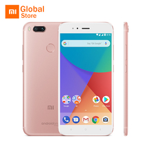 "Global Version Xiaomi Mi A1 MiA1 Mobile Phone 4GB RAM 64GB ROM Snapdragon 625 Octa Core Dual 12.0MP Android One 5.5"" 1080P"