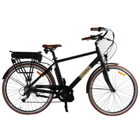 28inch City Electric Bicycle E Bike 36V250w With Bafang BBS01 Mid Drive Motor And Llithium Battery