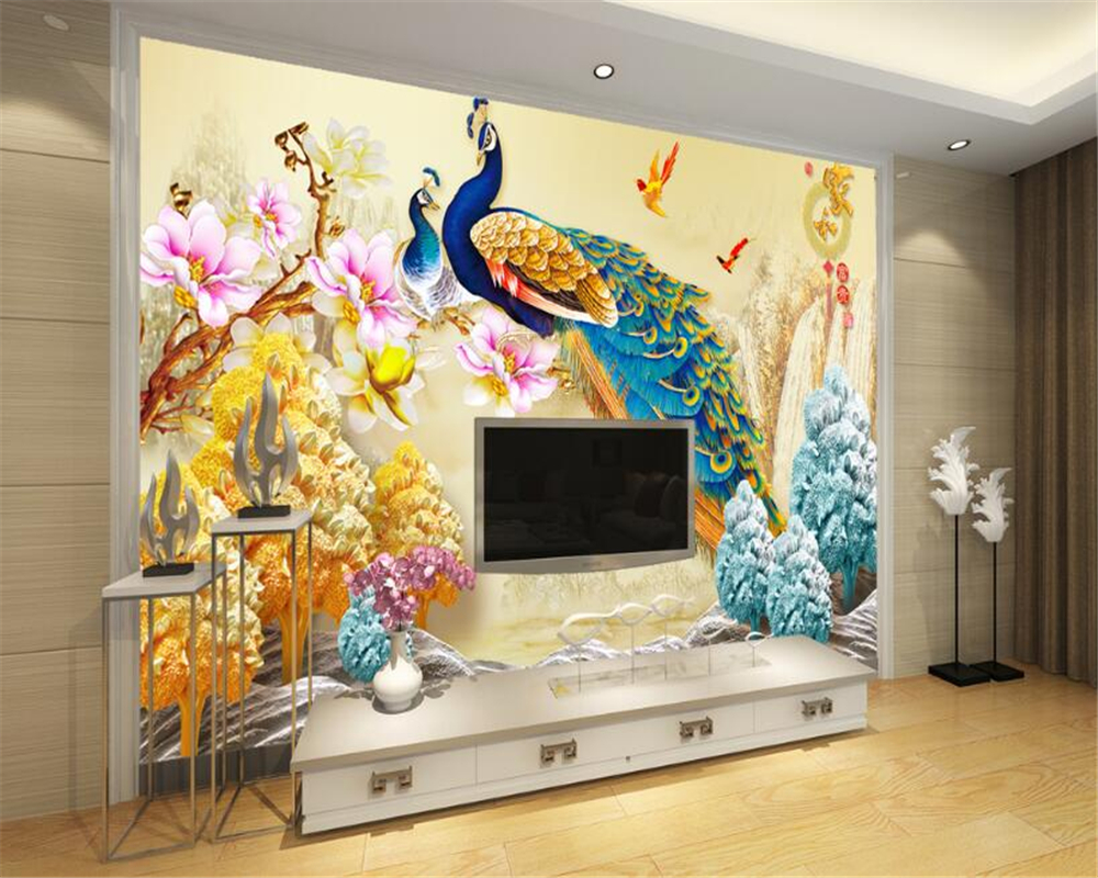 Wallpapers Hearty Custom 3d Photo Wallpaper Living Room Mural Sticker Europe Pattern Soft Marble Painting Sofa Tv Background Wall Non-woven Mural Punctual Timing Home Improvement