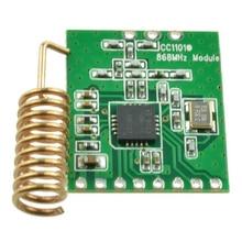 CC1101 плата со схемными элементами беспроводной модуль часть радиосвязи дальняя антенна трансивер связь низкая мощность 868 МГц