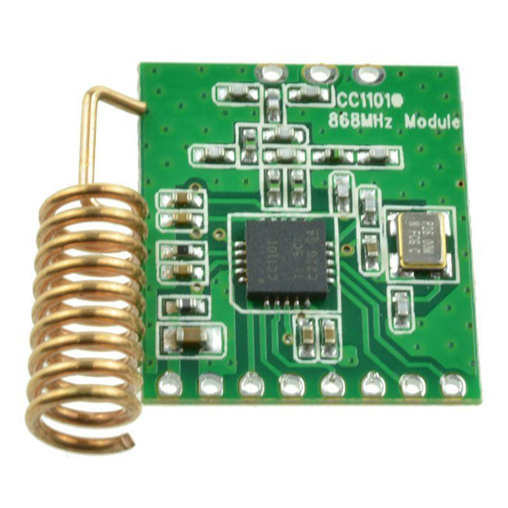 CC1101 Components Board Wireless Module Part Radio Transmission Long Distance Antenna Transceiver Communication Low Power 868MHZ