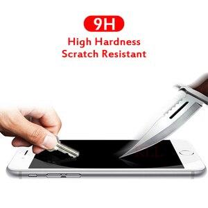 Image 3 - 4D Voor Iphone 7 Plus Beschermende Glas Volledige Cover (3D Bijgewerkt) gehard Glas Film Voor Iphone X 8 6S Plus Rand Full Screen Cover