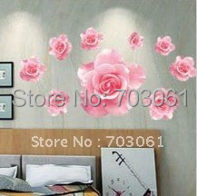 paper stickers removable small Wall Stickers decor kids boy girl Baby Nursery flower stones animal lion wall decal child plays - Curitis Automation Industry Co.,Ltd store