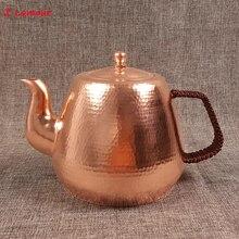 Z& Lamour 1,7л ручной работы китайский красный медный чайник большой емкости чайник китайская культура