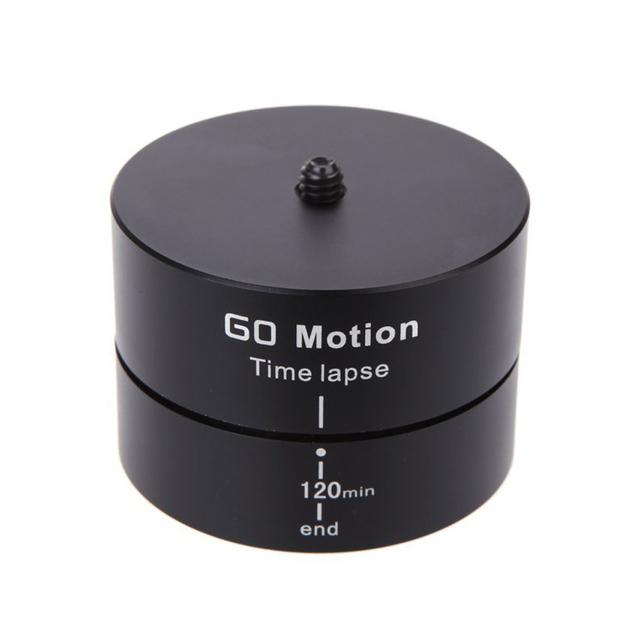 Câmera de Lapso de Tempo de Rotação de 360 Graus 120 Minutos Smartphones Estabilizador para Gopro Panning DSR Adequado para Gopro Esporte Câmeras