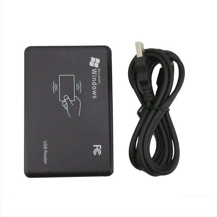 RFID 13.56Mhz IC USB Reader 14443A NFC Card Reader Smart Card Variety Format Output Adjustable No Need Of Driver