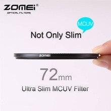 72mm ZOMEI PRO Ultra Slim MCUV 16 Layer Multi Coated Optical Glass MC UV Filter for Canon NIkon Hoya Sony DSLR Camera Lens 72 mm